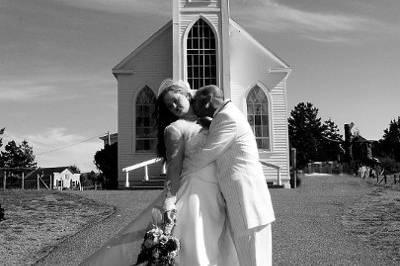 A Romantic, Wine Country Seaside Wedding