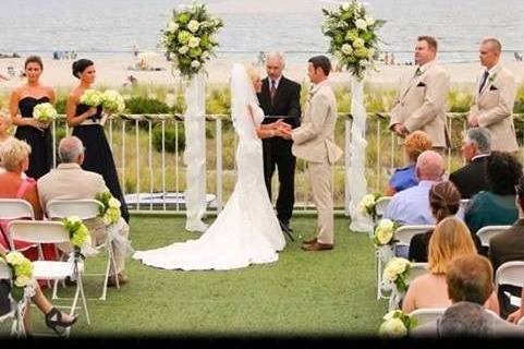 A day to remember, Officiant,Jim Moore