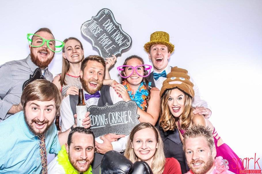 Group image - Spark Photo Booth