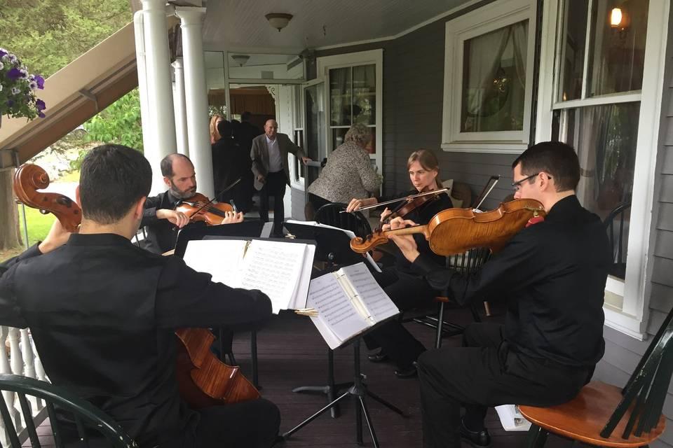 Quartet performance