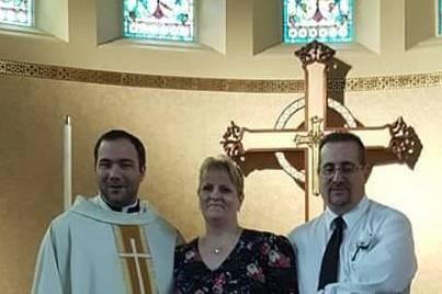 Wedding at St Matthews