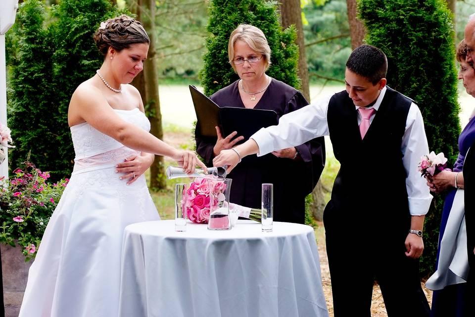 A Unique Wedding by Darlene