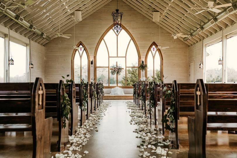The Brooks Chapel Decor