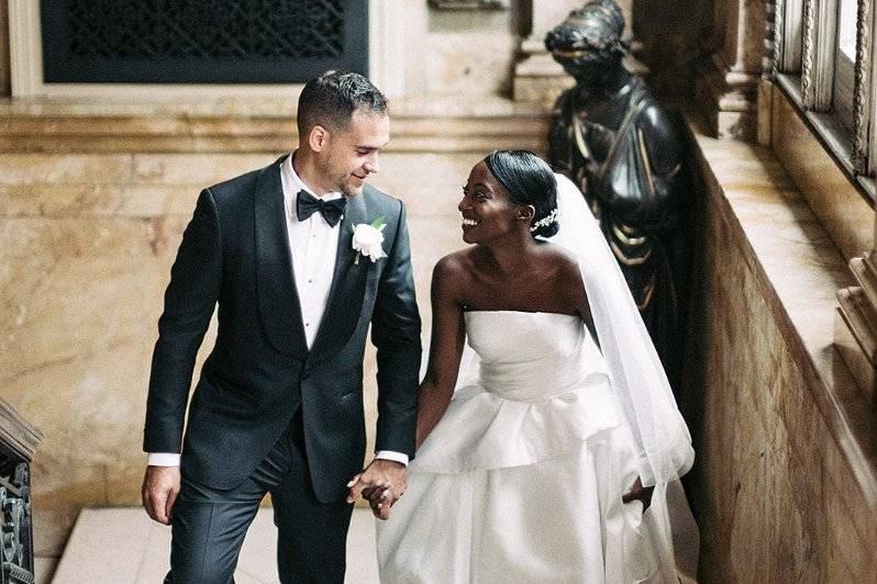 Beautiful PPL bride & groom