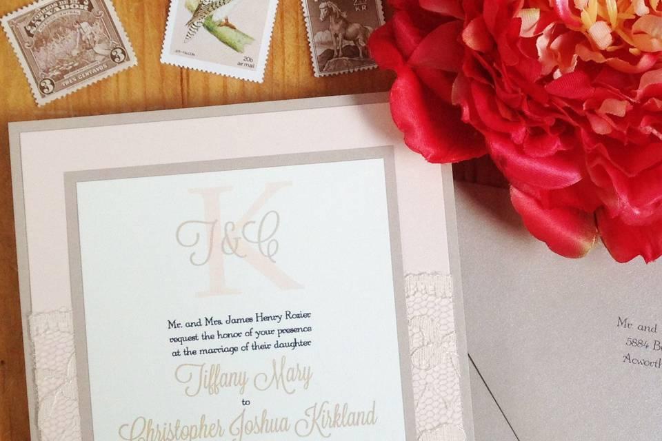 Zula Bell: Custom Invitations & Letterpress