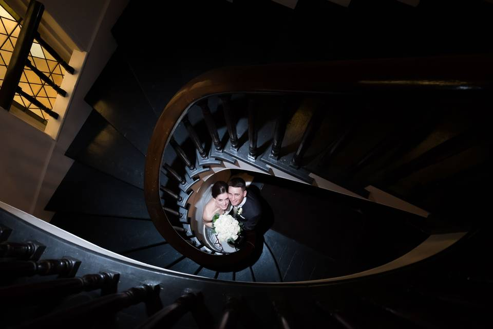 Creative staircase imagery