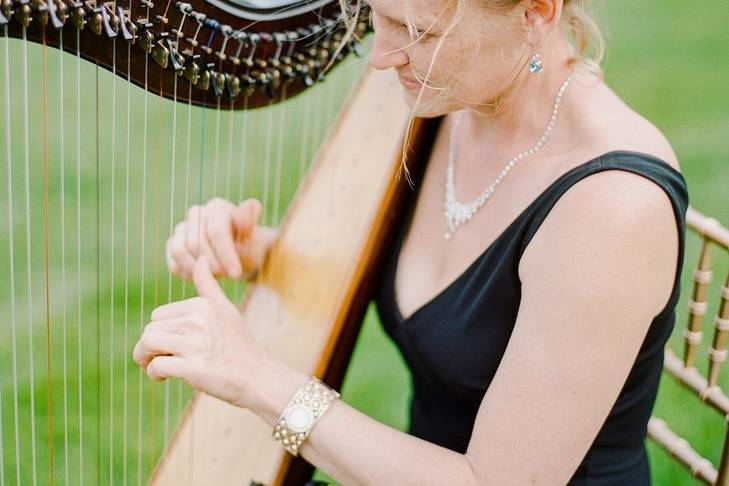 Harp at the Chanler