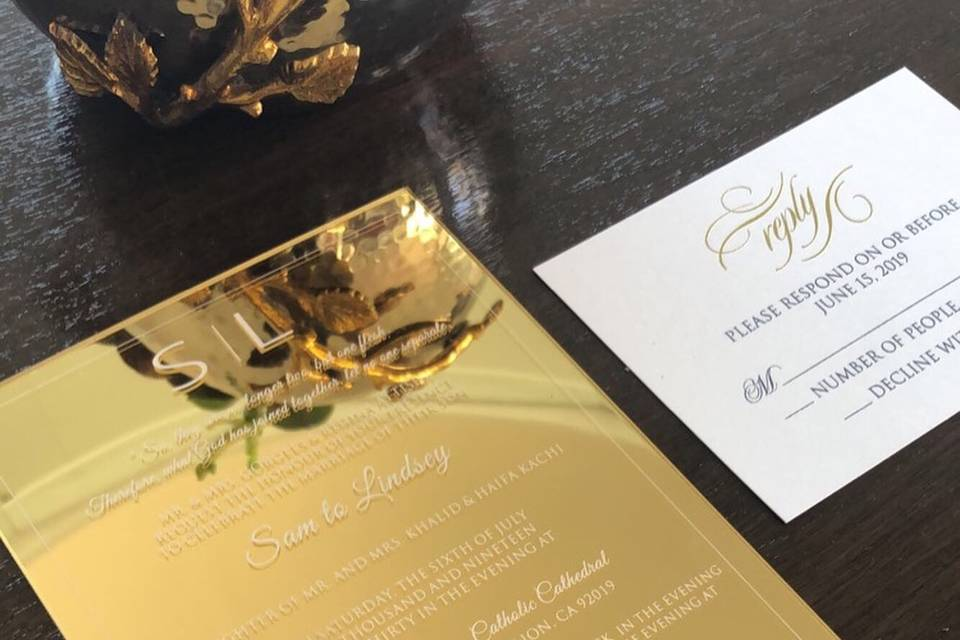 Formal Invites