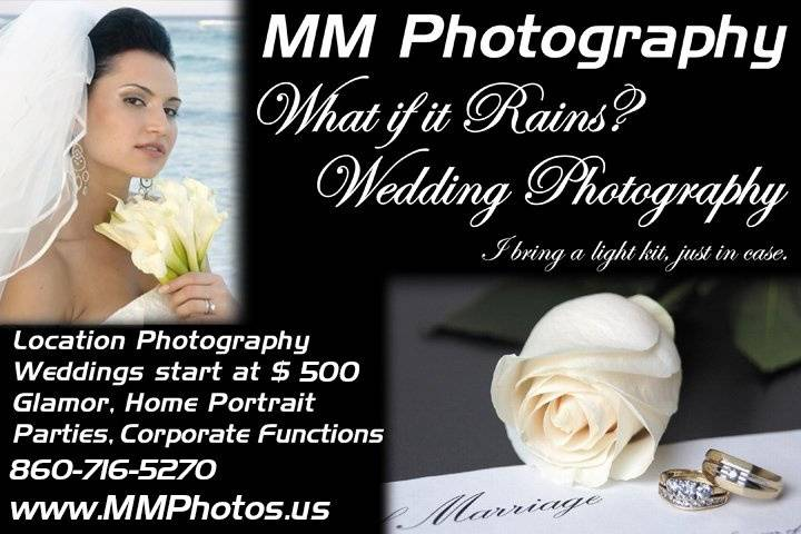 What if it Rains? Wedding Photography