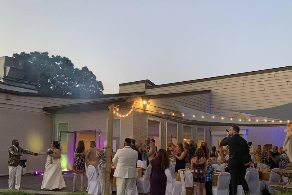 Patio Wedding Intro