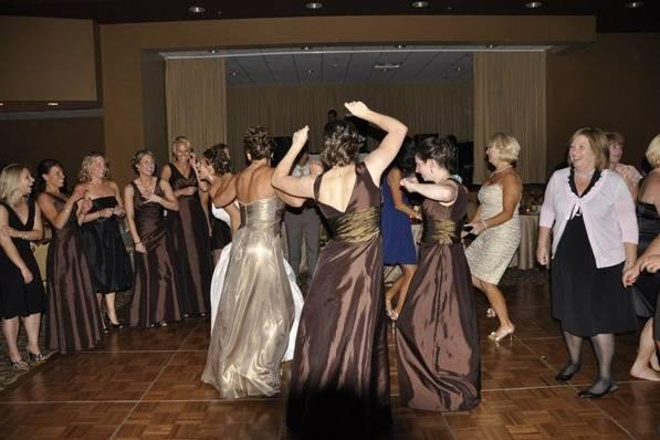 Good time on the dance floor