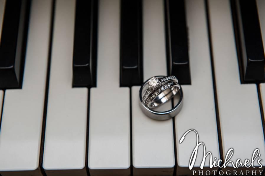 Rings on grande piano