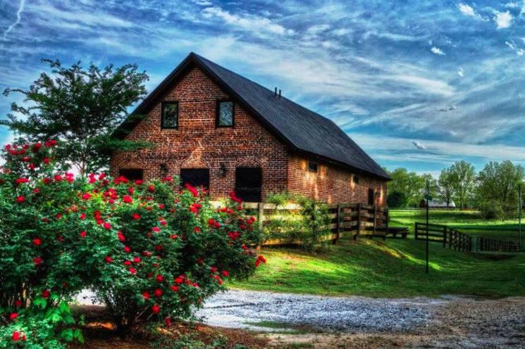 Whiskey Bonding Barn