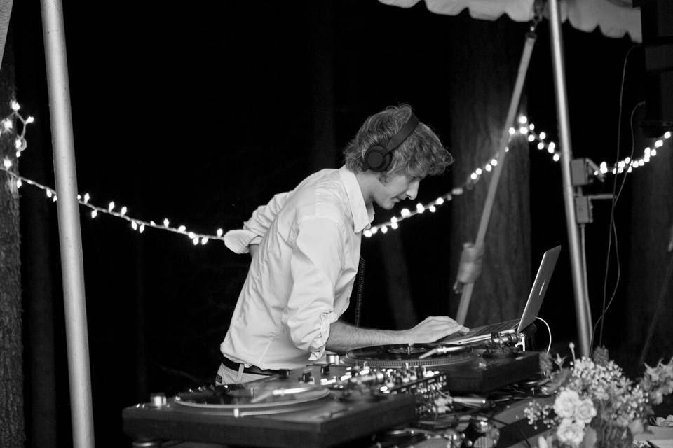 DJ and equipment