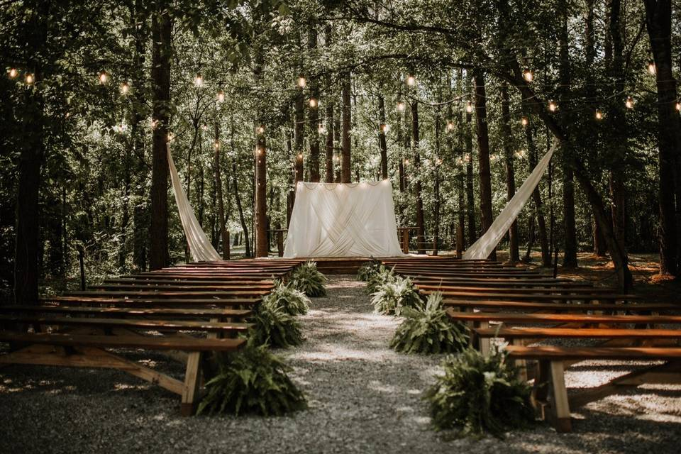 Forest Ceremony Site