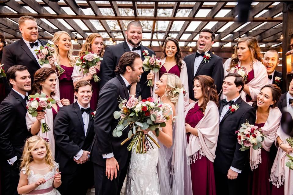 Wedding party - Elizabeth B Photography