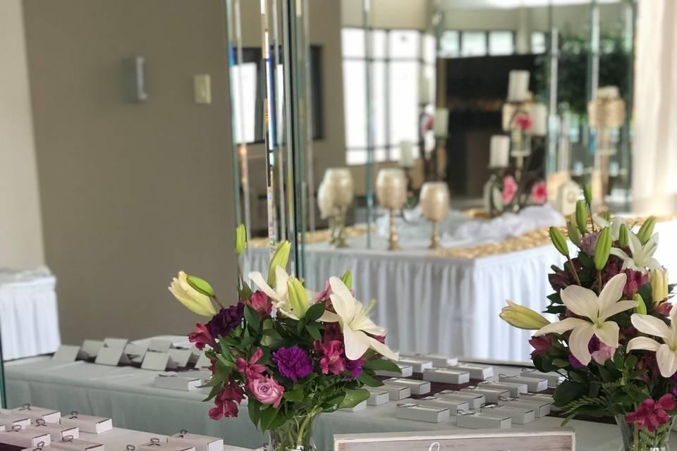 Wedding Table Entrance