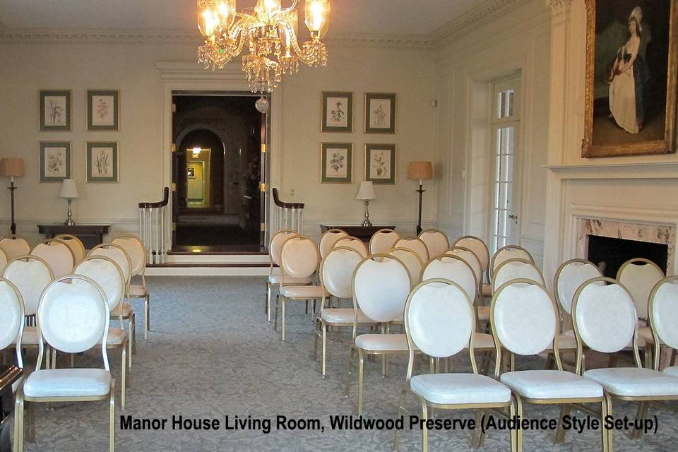 The Manor House Drawing Room