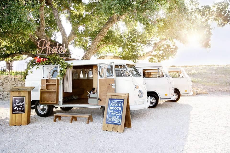 Fleet of 3 VW Photo Booths