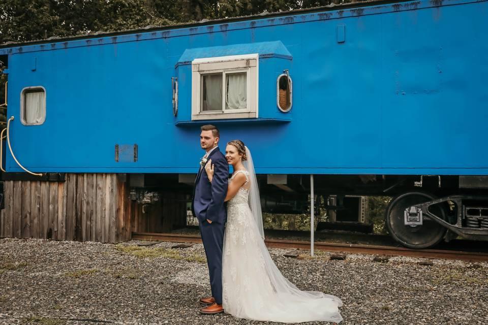 Newlywed at Caboose #2