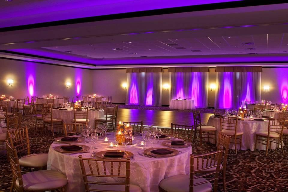 Royal purple reception
