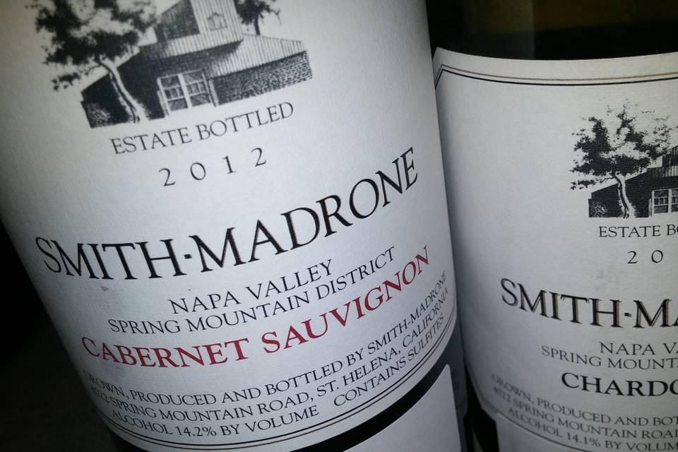 Smith-Madrone Estate Cabernet, Napa Valley