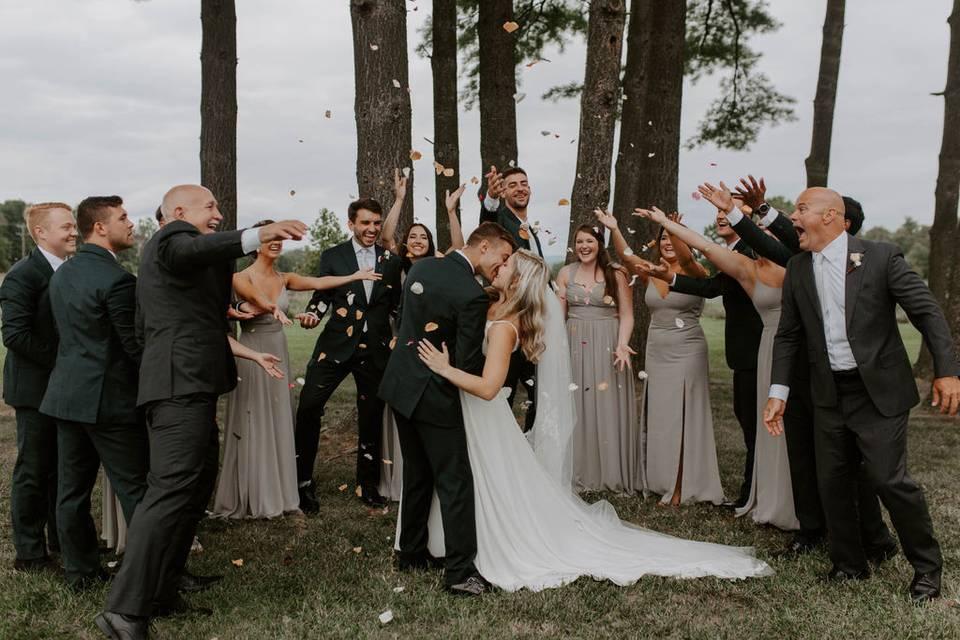 Pine Grove ceremony
