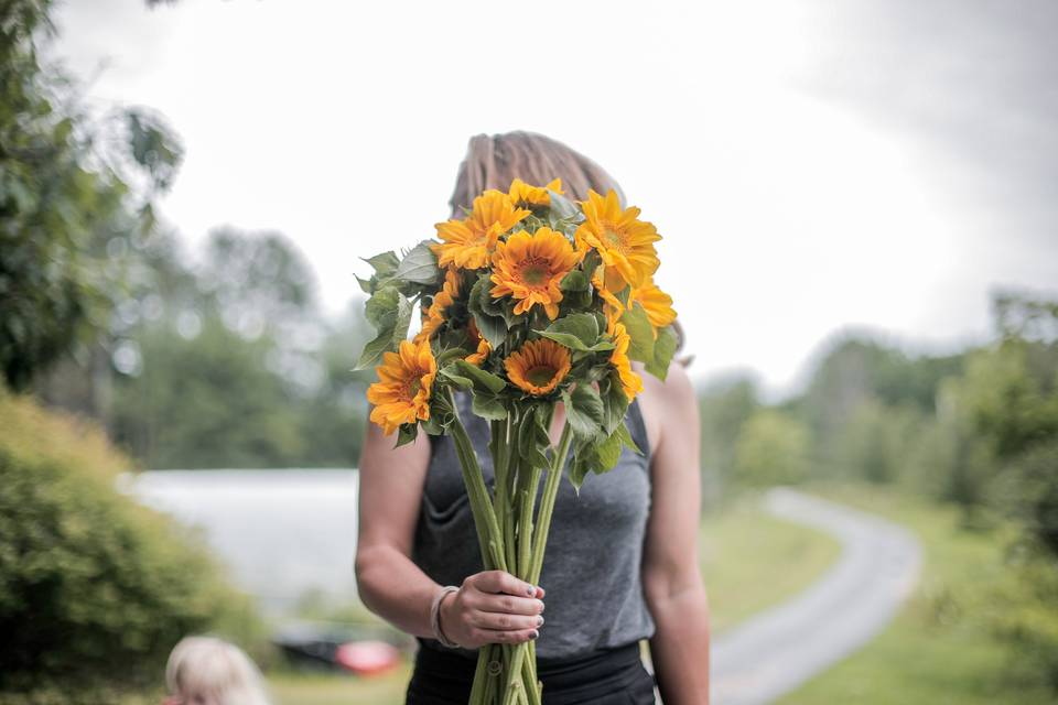 Valerie - your farmer/florist