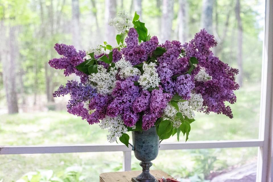 Lilac statement piece