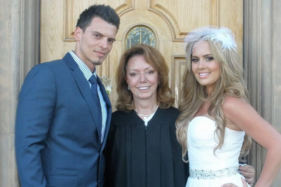 Rev. Rosie's Unforgettable CA Weddings