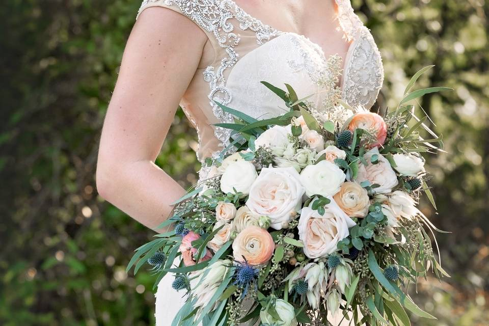 Hitched at Turkey Trac Farms - wedding bouquet