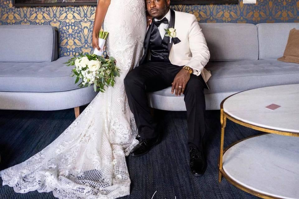 Bride and Groom- Savanna, GA