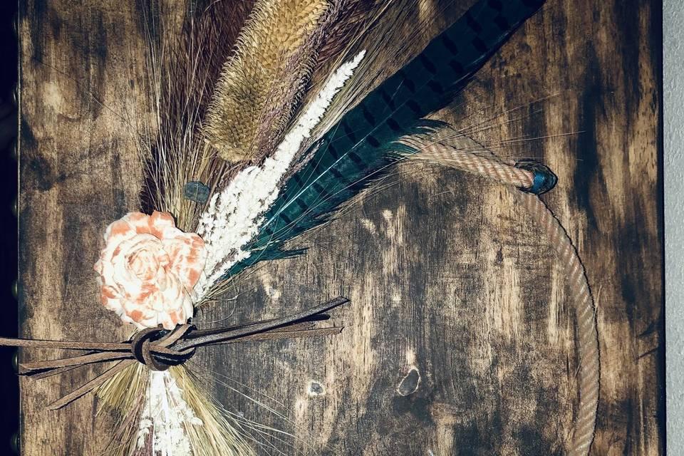 Hoop Style Lariat Bouquet