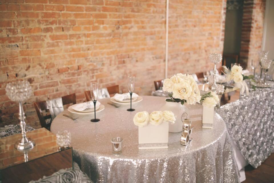 Silver Head Tables