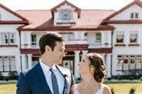Longview Mansion couple