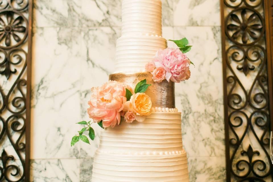 Contemporary cake design