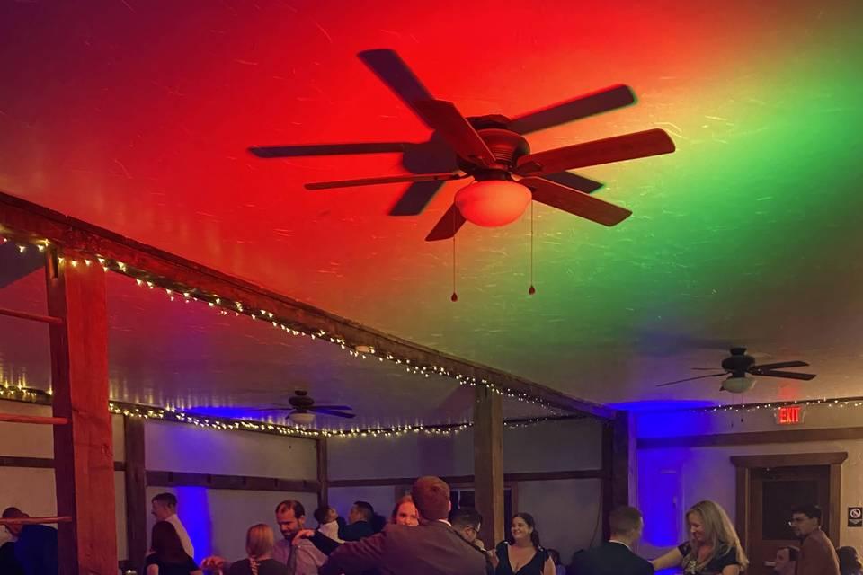 Dance floor lighting!