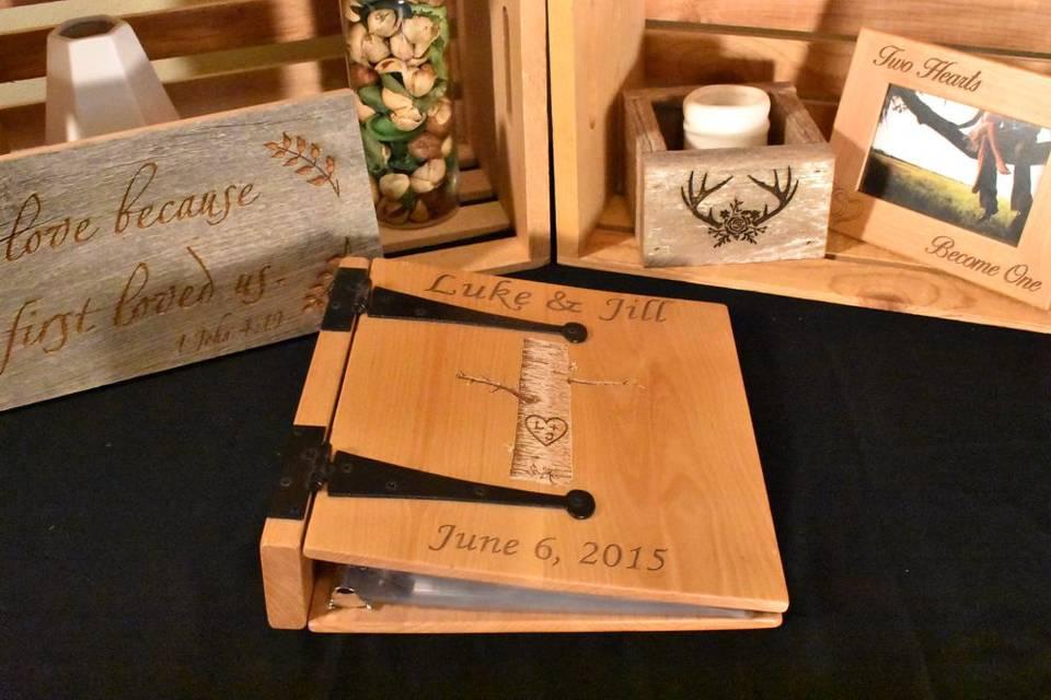Three Ring Wedding Photo Album