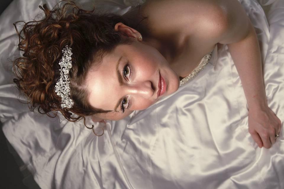 Angela's Bridal Portrait