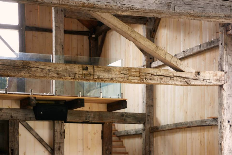 Stairs to the Hay Loft