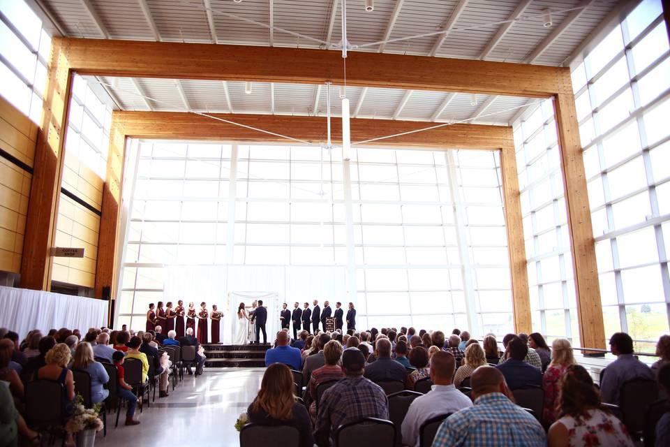 Main Concourse Ceremony