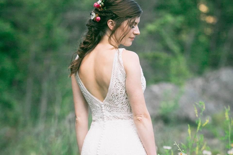 A Goddess braid for Katelynn.
