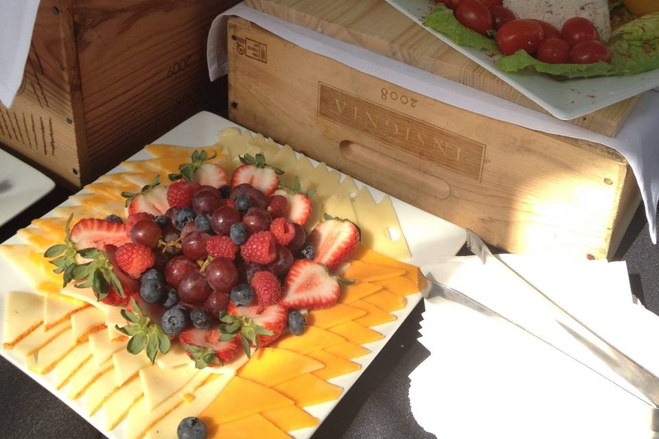 Fresh food displays