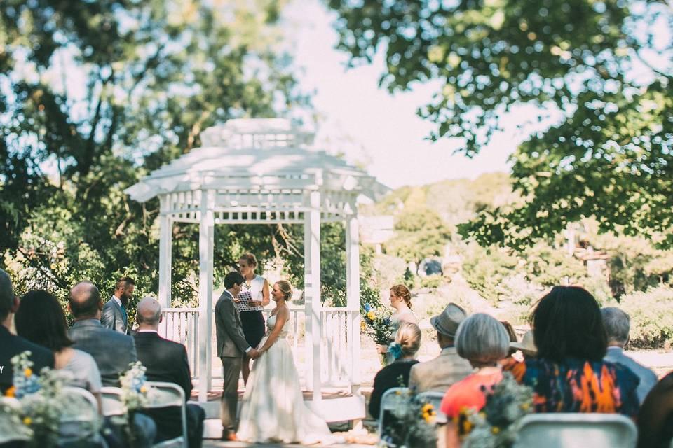 Pavilion on the Lake
