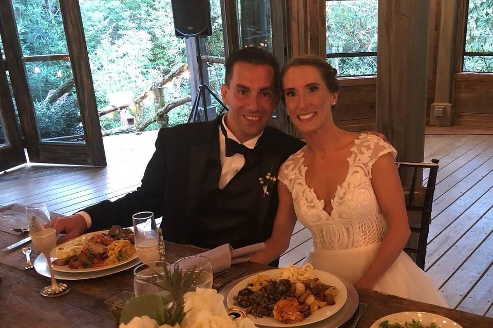 Full Vegan wedding!