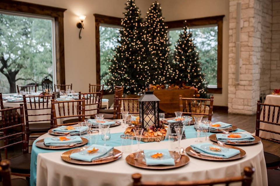 A holiday dinner