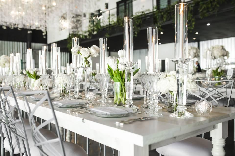 Stunning wedding details