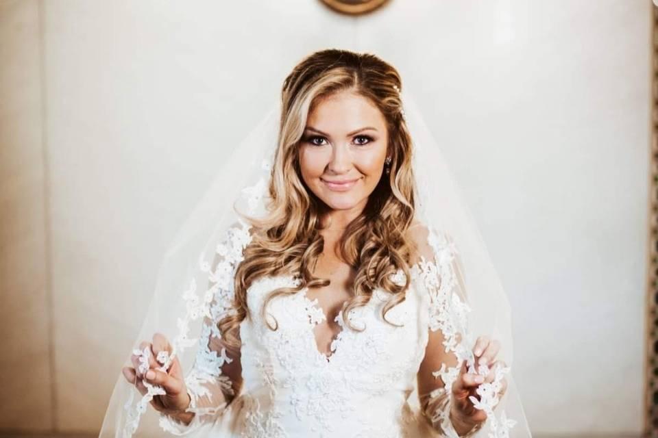 Gorgeous bridal look