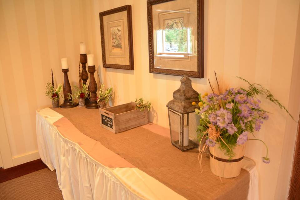 Table decors