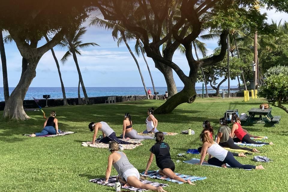 Yoga Big Island